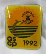 ASCP 1992 Pharmacy Affairs Pin American Society of Consultant Pharmacists  - $8.99