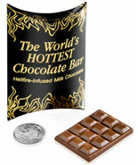 World's Hottest Chocolate Bar Small but intense bar of super spicy choco... - $28.44