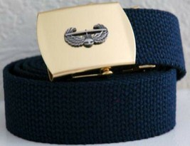 United Stated Army Air Assault Blue Belt & Buckle - $17.81