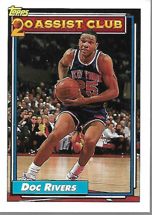 Primary image for 1992-93 TOPPS BASKETBALL-#217-Doc Rivers-Knicks-Guard