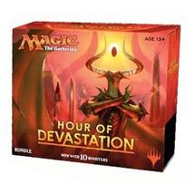 Magic Hour Of Devastation Sealed MTG Bundle Box 10 Boosters - $44.48