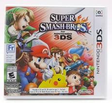 Super Smash Bros. (3DS, 2014) - COMPLETE IN CASE Mario Link Pikachu Nint... - $30.11