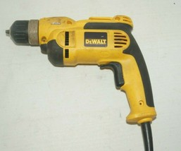 "For Parts Not Working - Dewalt DWD110 Vsr Corded Drill 3/8"" FP61 - $24.74"