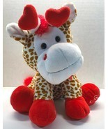 "Animal Adventure Plush Giraffe Valentine 18"" Stufffed Animal 2014 - $16.95"