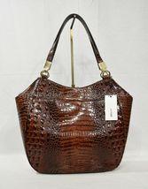NWT Brahmin Marianna Leather Tote / Shoulder Bag in Pecan Melbourne image 3