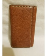 RALPH LAUREN VTG British Tan  6 Key Case Wallet Key Fob EUC - $49.49