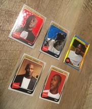 2019 Fleer Hanes Michael Jordan Blue Red Holographic Foil MJ 33 44 42 2 ... - $29.69