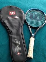 Wilson Hyper Hammer tennis racket with a tennis racket cover - $99.99