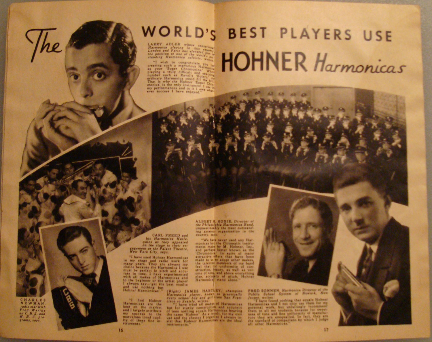 Vintage 1937 Booklet of Harmonica Playing Made Easy