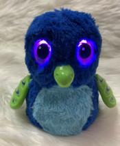 Hatchimals Blue Dragon Draggle Toy Motorized Lights Up Talks Plush Spin Master - $17.90