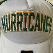 Miami Hurricanes Women's Trucker Hat Adjustable New Without Tags - $18.80