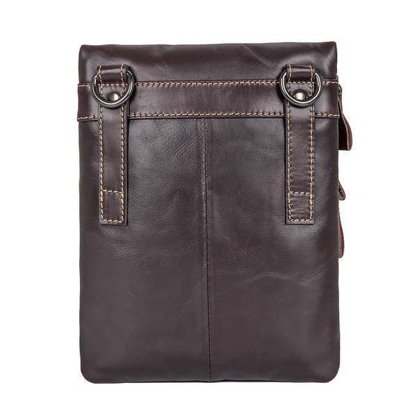Sale, Vertical Messenger Bag, Vintage Leather Messenger Bag, Men Large Messenger image 3