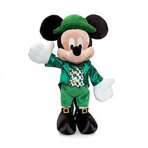 Official Disney Mickey Mouse 38cm Dublin Soft Plush Toy - $85.00