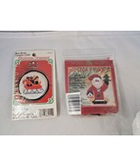 New Berlin Creative Crafts SLEIGH Christmas Ornament & Mill Hill Holiday... - $4.65