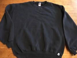 Russell Athletic usa made sweatshirt size XXL 2XL crewneck blank Blue Mint - $25.64