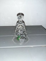 """WATERFORD crystal bell 12 Days of Christmas 3 FRENCH HENS 1986 - 4-1/4"""" - $17.99"""