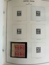 MNH 1938-1984 US Plate Block Collection Stamp Album Harris United States USA image 3