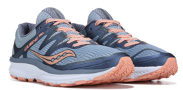 Saucony Guide ISO Size 9.5 M (B) EU 41 Women's Running Shoes Peach Blue ... - $78.39
