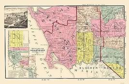 Sonoma  Southwest Coastal California Landowner - Thompson 1877 - 23 x 35 - $36.95+