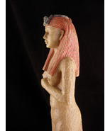 """17"""" Nude Cleopatra Statue - art deco Queen of the Nile sculpture - faux ... - $125.00"""