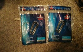 Two Genuine Bissell Lift-Off Belt 2 - Pk No. 3200 Style 8 and 14