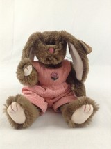 1993 Ty Attic Treasures Rose Bunny With Clothes Easter Stuffed Plush Ani... - $5.89