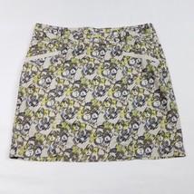 Ann Taylor LOFT Womens Skirt Size 8 Multi-Color Above Knee Print A-Line C11 - $13.49