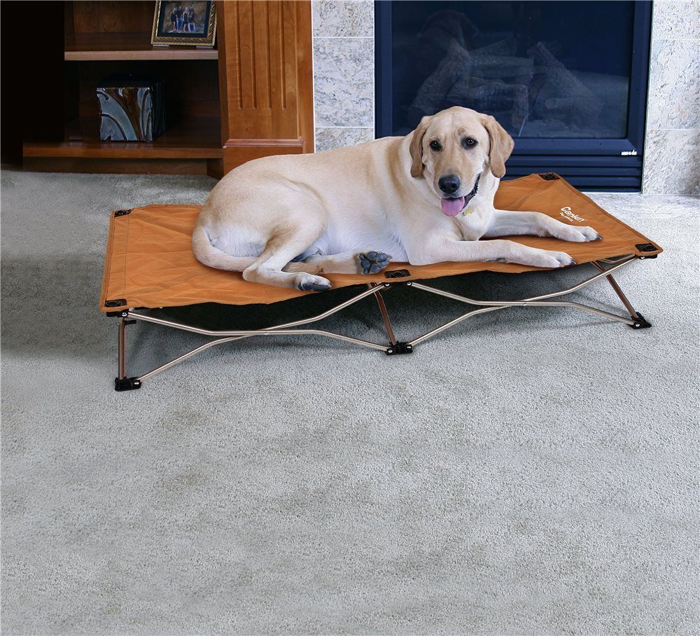 Carlson The Portable Pup - Large Pet Bed - Tan 8020