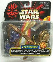 1999 Star Wars Episode 1 Gungan Catapult Accessory Set Hasbro 26218 SEAL... - $6.25