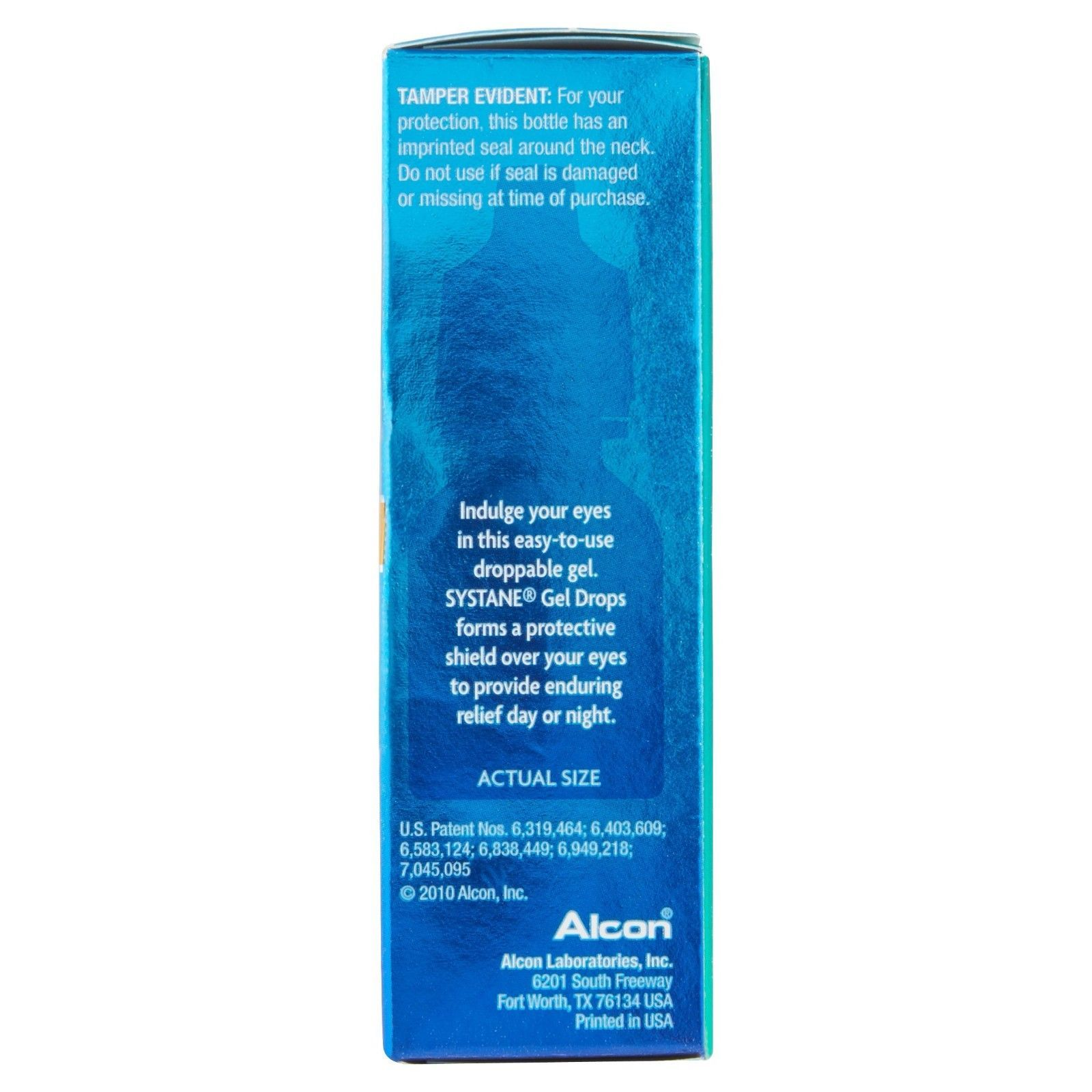 Alcon Systane Gell Drops Lubricant Eye Gel, 0.33 fl Oz