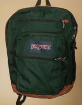 "JanSport Cool Student Dark Green Boys Girls Backpack Bookbag 15"" Laptop New - $59.39"
