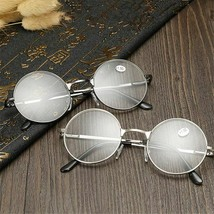 Round Spectacle Reading Glasses Potter Style Metal Frame Circle Glasses - $7.39