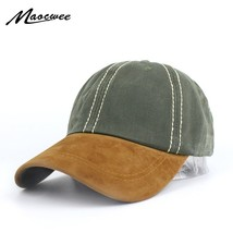 Mixed colors Washed Denim Snapback Suede Hats Summer Men Women Baseball ... - $10.70