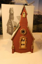 DEPT 56 58343 DUDDEN CROSS CHURCH DICKENS VILLAGE LIGHTED BLDG NICE W/CO... - $18.57