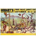 Wall Decoration Poster.Room art design.Circus Hobart.Acrobats acts show.... - $10.89+