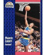 Marcus Liberty ~ 1991-92 Fleer #53 ~ Nuggets - $0.05