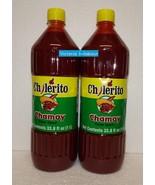 Two pack: El Chilerito Chamoy Mexican Hot Sauce 1L 33.8fl oz x2 - $19.00