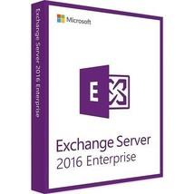 Exchange Server 2016 Enterprise Edition 64 Bit Complete with 250 User CA... - $1,579.05