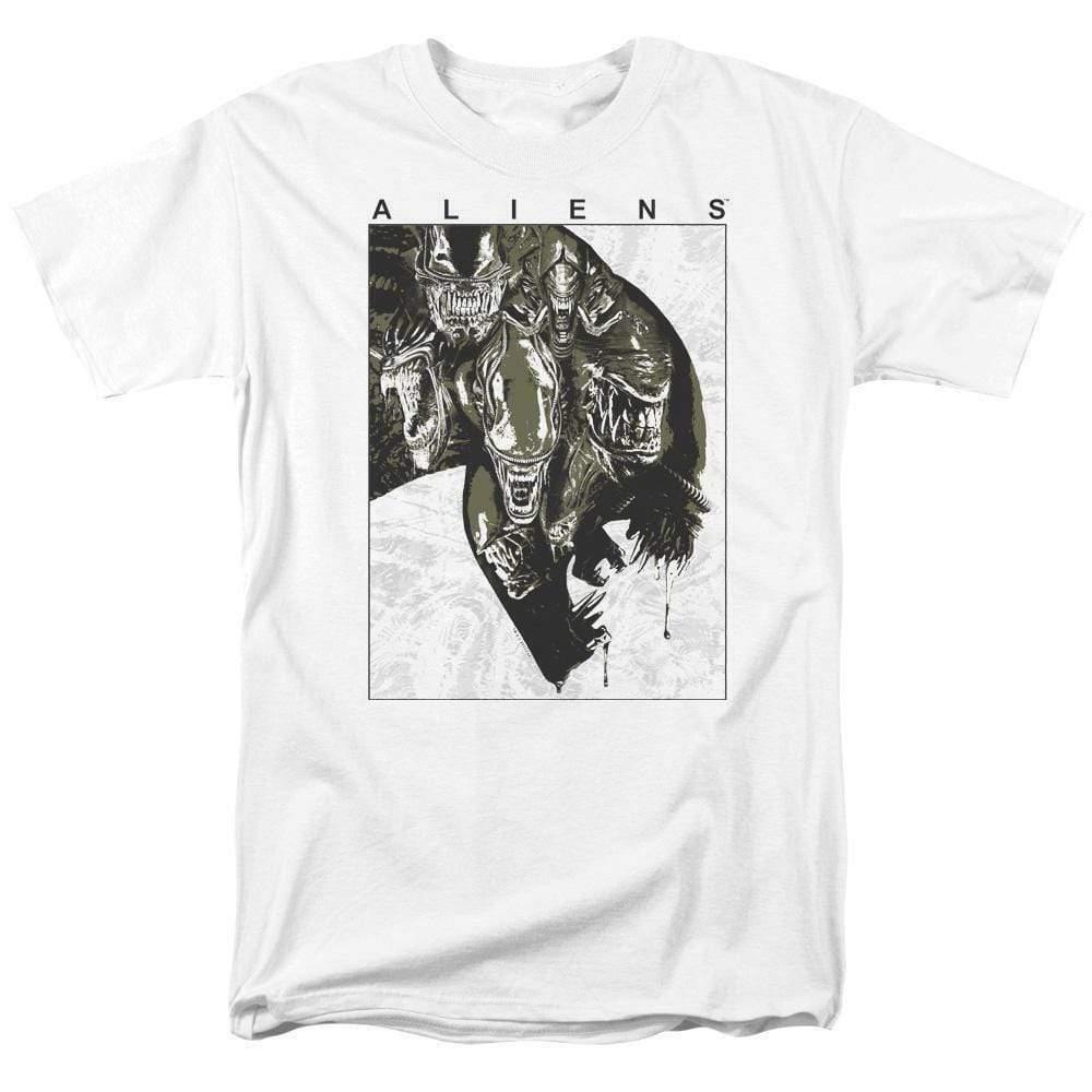 Alien t-shirt retro 70s 80s science fiction horror cotton graphic tee TCF632