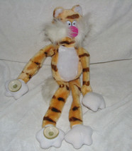 VTG RUSS BERRIE & CO STUFFED PLUSH KITTY CAT KITTEN TABBY TIGER SUCTION ... - $31.67