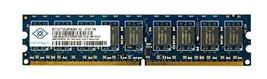 NANYA 1GB PC2-5300 2RX8 MEMORY MODULE NT1GT72U8PB0BY-3C