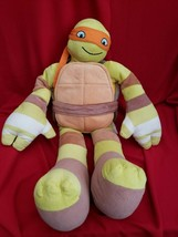 "24"" Jay Franco and Sons Turtle Michelangelo Stuffed Animal Plush Toy FRE... - $59.18"