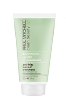 John Paul Mitchell Systems Clean Beauty Anti-Frizz Leave-In Treatment, 5.1oz