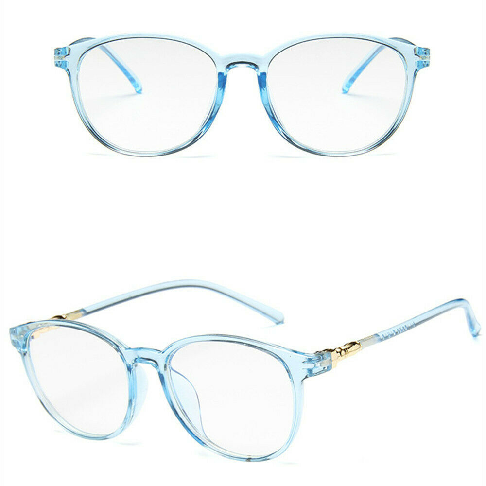 New Fashion Classic Style Oval Clear Lens Glass Frame Retro Casual Daily Eyewear