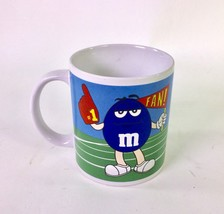 """Galarie Blue and Green M&M's Coffee Cup Mug 4"""" x 3"""" - $12.82"""