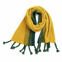Plus Size Fashion For Women's Acrylic Yarn Solid Scarf Simulated With Bi... - $20.42