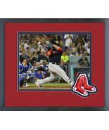 Mitch Moreland 3 Run Home Run Game 4 of the 2018 World Series Framed Photo - $43.55