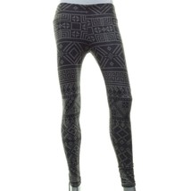 VIGOSS Skinny Aztec Stretch Destructed Gray Leggings Pants XS - $14.99