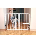 Carlson Tuffy Expandable Gate with Small Pet Door-0624 - $58.41