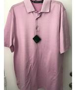 Bobby Jones Mens L Lilac Cotton Golf Polo Shirt NWT  - $21.23